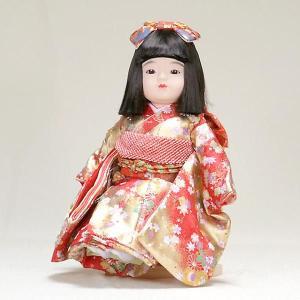 市松人形 抱き人形 13号 いちまつ人形 13号瞳h012|jinya