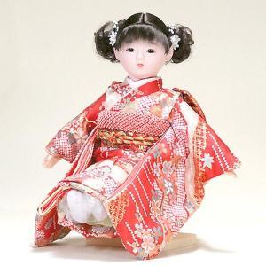 市松人形 抱き人形 13号 いちまつ人形 13号瞳h055|jinya
