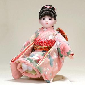 市松人形 抱き人形 13号 いちまつ人形 13号瞳h617|jinya