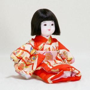 市松人形 抱き人形 8号 いちまつ人形 京8号特おさな はいご|jinya