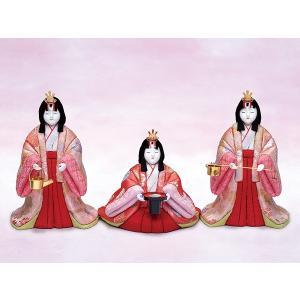 雛人形 真多呂 木目込み ひな人形 和泉 三人官女 単品|jinya