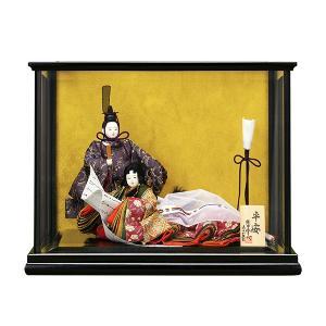 雛人形 葵 平安 柳親王 親王飾り ケース飾り 西陣|jinya