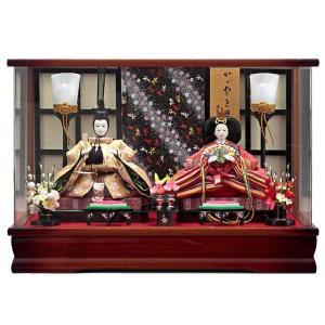 雛人形 ケース飾り ひな人形 浮舟 豆 親王飾り 153-210|jinya