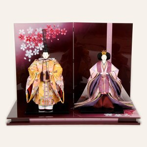 雛人形 立雛飾り 親王飾り ひな人形 43t|jinya