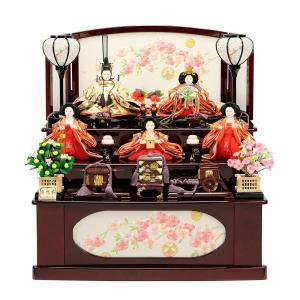 雛人形 ひな人形 お祝い 引出収納式 三段飾り 3段飾り 五人飾り 5人飾り 収納飾り おしゃれ かわいい おしゃれ 可愛い コンパクト