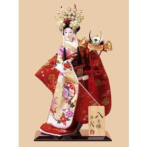 日本人形 10号尾山人形 オ1423 金らん jinya