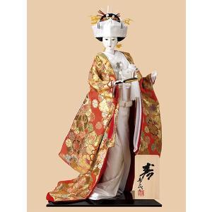 日本人形 10号尾山人形 オ1821 西陣 花嫁|jinya
