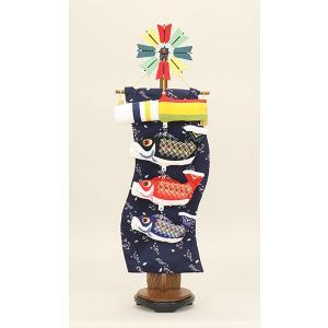 鯉のぼり 室内 こいのぼり 鯉飾り 卓上 五月人形 コンパクト 鯉飾り桜(台付)90号 初節句飾り おしゃれ 端午の節句 2020|jinya