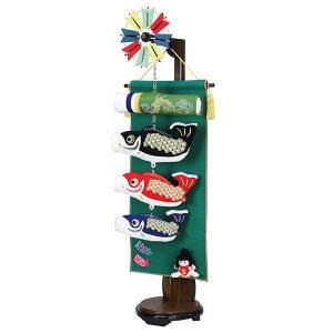 鯉のぼり 室内 こいのぼり 鯉飾り 卓上 五月人形 コンパクト 鯉飾り金太郎(台付)90号 初節句飾り おしゃれ 端午の節句 2020|jinya