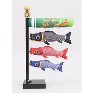 鯉のぼり 室内 こいのぼり 鯉飾り 卓上 五月人形 コンパクト 室内鯉 古代30cm 初節句飾り おしゃれ 端午の節句 2020|jinya