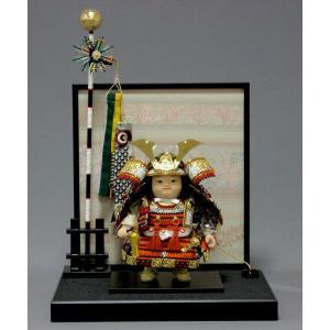 5月人形 子供大将 幸一光 駿平飾り 人気 5月人形 松崎幸一光 端午の節句 たんご 初節句 taisyou-49|jinya