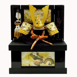 五月人形 収納 兜飾り kabuto-49|jinya