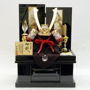五月人形加藤鞆美収納飾り兜コンパクト kabuto-49|jinya