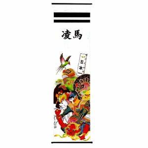 五月人形 タペストリー 桃太郎の鬼退治 P1|jinya