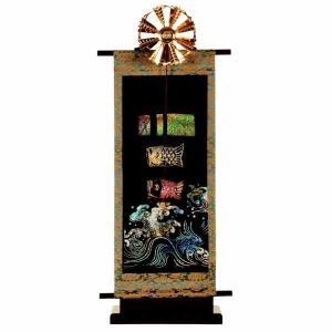 五月人形 室内こいのぼり キラキラ鯉台付セット 小 W4N|jinya