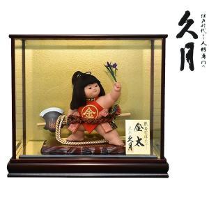 五月人形 久月 ケース飾り ケース入り 5月人形 コンパクト 兜飾り 金太郎飾り 5月人形 kyugetsu_gogatsu 久月|jinya