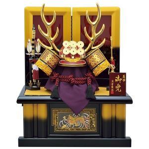五月人形 着用 収納飾り 兜飾り 25号 真田幸村 着用兜彫...