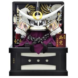 五月人形 着用 収納飾り 兜飾り 25号 銀竜 上杉謙信 着用兜収納飾り kabuto50-59 5月人形|jinya