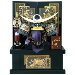 五月人形 着用 収納飾り 兜飾り 23号 彫金 上杉謙信 着用兜(B)収納飾り kabuto50-59 5月人形|jinya
