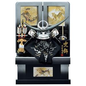 五月人形 収納飾り 兜飾り 12号 銀翔竜 上杉謙信 兜収納飾り kabuto-49 5月人形|jinya