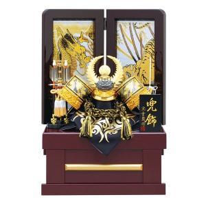 五月人形 収納飾り 兜飾り 8号 金彫金 徳川家康 兜収納飾り kabuto-49 5月人形|jinya