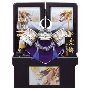 五月人形 収納飾り 兜飾り 8号 銀 上杉謙信 彫金兜収納飾り kabuto-49 5月人形|jinya