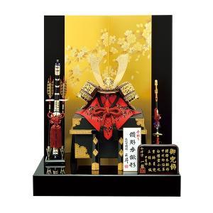 五月人形 兜飾り 10号 京桜兜二曲飾り kabuto60-69 5月人形|jinya