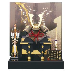 五月人形 兜飾り 13号 陽炎兜二曲飾り kabuto60-69 5月人形|jinya