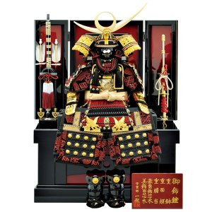 五月人形 収納飾り 鎧飾り 7号 上杉謙信 鎧収納飾り yoroi-49 5月人形|jinya