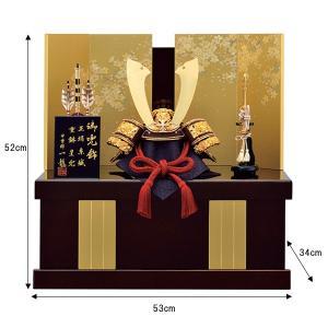 五月人形 収納飾り 兜飾り 10号 中鍬星兜収納飾り kabuto50-59 5月人形|jinya