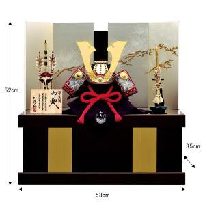 五月人形 収納飾り 兜飾り 1/3 源義朝 兜収納飾り kabuto50-59 5月人形|jinya