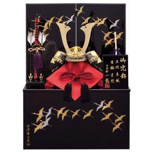 五月人形 収納飾り 兜飾り 8号 陽炎兜収納飾り kabuto-49 5月人形|jinya