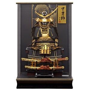 五月人形 鎧 上杉謙信 コンパクト 鎧飾り ケース 165-721 yoroi-49 5月人形|jinya
