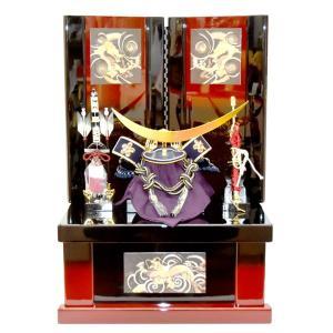 五月人形 収納飾り 伊達政宗 コンパクト 兜飾り かぶと 5月人形 kabuto40-49|jinya