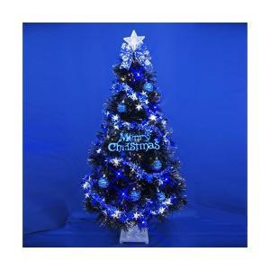 クリスマスツリー ファイバーツリー ブラックファイバーツリーセット120cm11|jinya