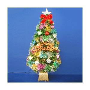 クリスマスツリー ファイバーツリー 90cmグリーンファイバーツリーセット12|jinya