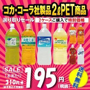 コカコーラ 製品 2ケースパック 2リットル ペットボトル 激安販売 |jinya