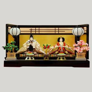雛人形 親王飾り 平飾り|jinya
