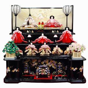 雛人形 三段飾り 10人飾り ひな人形 十人|jinya