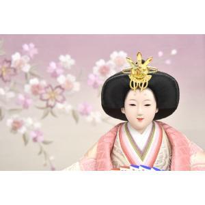 雛人形 コンパクト 収納飾り 白 ひな人形 親王飾り 平飾り お雛様 初節句飾り JIN雛匠シリーズ お祝い おしゃれ|jinya