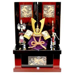 五月人形 収納飾り コンパクト 兜飾り かぶと 5月人形 kabuto40-49|jinya