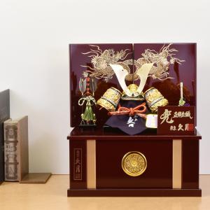 五月人形 久月 兜飾り 収納 kabuto-49 5月人形 kyugetsu_gogatsu 久月|jinya