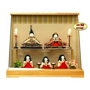 雛人形 木目込み 幸一光 雛人形ケース 10-3hikari-1140-k2|jinya