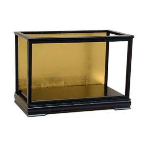 人形ケース ガラス人形ケース ガラスケース 雛人形ケース 五月人形ケース s135jyo 幅55奥25高34cm(ガラス寸法)内計り|jinya