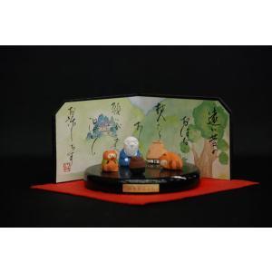 昔話 和装置物 ぶんぶく茶釜|jinya