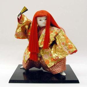 【訳あり品】【倉庫管理品】日本人形 猩々|jinya