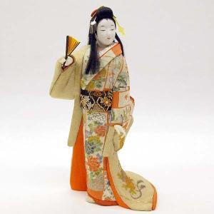 【訳あり品】【倉庫管理品】日本人形 木目込人形 古代 春宵|jinya