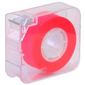 メモグラフ 透明蛍光テープ 19mm×33m ピンク シカッド・グループ【PKMG19】