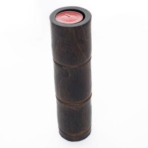 (送料無料在庫処分セール)木のキャンドルホルダー|jitacollection