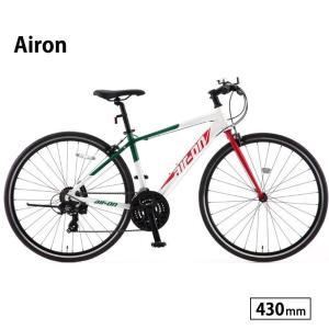 自転車 クロスバイク 完全組立 エアーオン2 430mm サカモトテクノ|jitensha-box